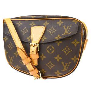 Auth LOUIS VUITTON Jeune Fille PM Shoulder Bag Monogram Leather M51227 86BS483