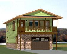 20x40 House -- 2 Bedroom 1.5 Bath -- 1,053 sq ft -- PDF Floor Plan -- Model 7