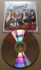 Union J - Beautiful Life UK Promo Cd Single George Jaymi Josh JJ