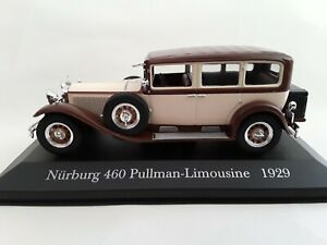 Mercedes Benz Nürburg 460 Pullman Limousine 1929 -  1:43   Atlas / Altaya