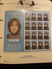 More details for gb westminster album 28 mini sheets stars of stage & screen