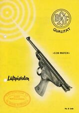 Beretta c1966 S20 Luftpistolen-Air Pistol Flyer