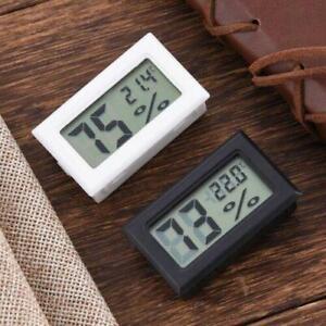 Digital LCD Thermometer Hygrometer Temperature Humidity Meter Gauge Home Car