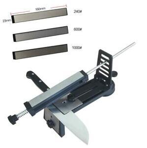 Fix-angle Professional Knife Sharpener System Diamond Sharpening Stone Whetstone