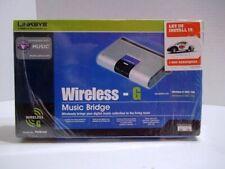 Cisco Linksys WMB54G Wireless G Music Bridge 2.4 Ghz 802.11g New Sealed