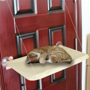 Cat Pet Window Mounted Basking Bed Pet Shelf Kitten Perch Seat High Hammock