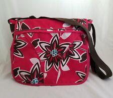 b14c646c4aba Vintage Gap Kids Girl s Pink Floral Crossbody Messenger School Book Laptop  Bag
