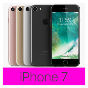 Apple iPhone 7 - 32GB - (GSM) Unlocked T-Mobile Verizon Boost Sprint Smartphone