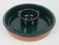 Harry And David Green Chip Dip Serving Bowl