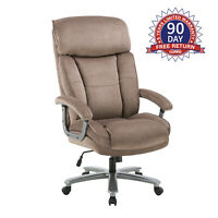 Ergonomic Big and Tall Executive Office Chair with Upholstered Swivel 400lbs