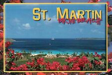 Bikini Beach, Orient Beach, Saint Martin French West Indies Caribbean - Postcard