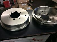 CLASSIC MORRIS MINOR PAIR 8 INCH FRONT BRAKE DRUMS ATA7154 x 2CHRISTMAS SPECIAL