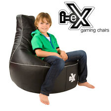 I-ex Rookie X Large Kids Gaming Chair - Faux Leather Gamer Bean Bag