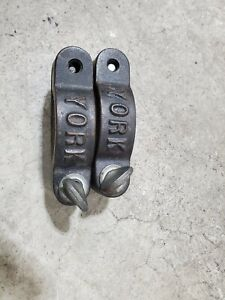 York Vintage One Pair Barbell Collars