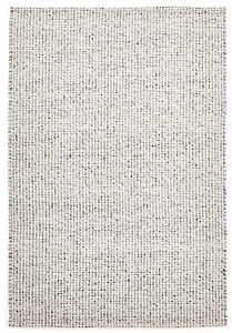 Rug Culture Skandi 300 Grey - Wool Rug - modern, contemporary style, textured