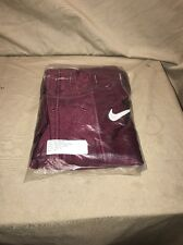 Football Game Pants Nike Maroon Size 30s style #763360-669