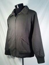 Patagonia Jacket Micro Fleece Lined Full Zip Plaid Green Men's Medium