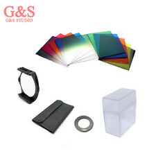 52mm ring Adapter + 10pcs square color filter + Filter box for Cokin P series