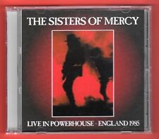 SISTERS OF MERCY rare red cd LIVE IN POWERHOUSE 1985 the mission fields nephilim
