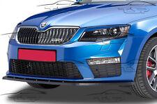 SPLITTER FRONT LIP SPOILER FRONT BUMPER FOR SKODA OCTAVIA 3 RS from 2014 CSL097