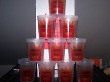 Lot of 10 Mixing Cups Quart EZ-Mix 32 oz Plastic Dupont Ratio Solid Filter Lids