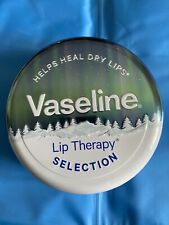 Vaseline Lip Therapy Gift Tin - Rosy Lips, Original And Cocoa Butter