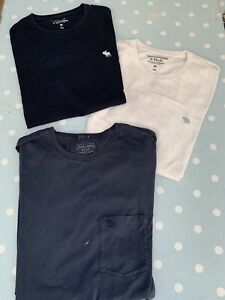 Mens Abercrombie And Fitch T Shirt Bundle X3 Size M