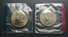 1979 P&D Kennedy Half Dollars 2-Coin Set (In Mint Cello/Plastic) BU