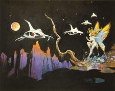 "Authentic Frank Frazetta Print ""Dream Flight"" 17 x 24 - #126"