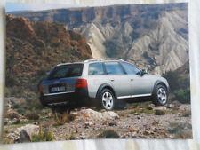 Audi allroad quattro 2.5TDi press photo Feb 2000