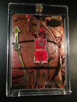 MICHAEL JORDAN 1997 SKYBOX METAL UNIVERSE #5 ALL MILLENNIUM FOIL INSERT CARD MJ
