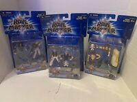 Lot Of 3 Rave Master Sction Figures Made By Hasbro Musica Shuda Plue Haru Glory