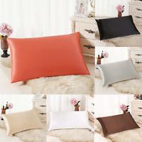 Rectangle Cushion Cover Silk Throw Pillow Case Pillowcase Sofa Home Decor ew