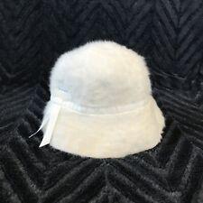 09a71663268b8 Vintage Kangol Design Furgora Clouche Women s Bucket Hat Ribbon Large RARE