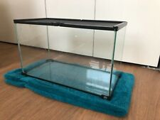 Used 10 Gallon Glass Terrarium by Thrive for Leopard Geckos, Snakes, Lizards
