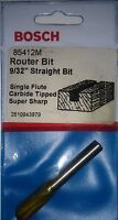 Bosch 85412M 9/32 Carbide Straight Router Bit USA