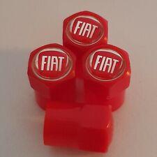 FIAT Plastic Wheel Valve Dust caps all models Red 7 Colors tipo 124 spider panda