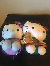 Hello Kitty Plush 2pc LOT