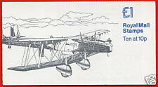 Fh3a Hawker Fury Lm £1 Folded Booklet