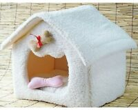Pet Dog Cat Soft House Bed Cat Fade House 36x41x41cm