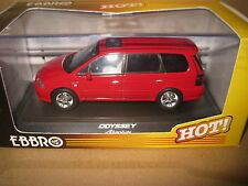 EBBRO 1/43 HONDA ODYSSEY ABSOLUTE MILANO RED OLD SHOP STOCK AWESOME LOOKING CAR