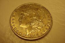2 VINTAGE USA COLLECTIBLES,1883-P  AU,  SILVER MORGAN $  & 1875 IHC  (ID#PM-1)