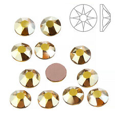 Swarovski hotfix cristaux (2078) metallic sunshine SS34 (K68/1)