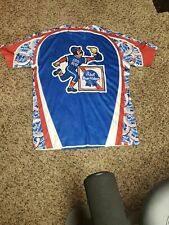 PABST BLUE RIBBON BeeR - Softball  Jersey -  #4 Size Small EUC