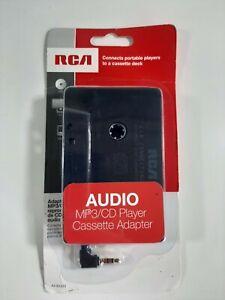 New RCA Audio MP3/CD Player Cassette Adapter AH600R
