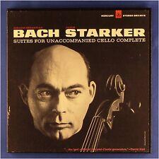 Bach Cello Suites Janos Starker Mercury Living Presence LPs SR3-9016 RFR-1