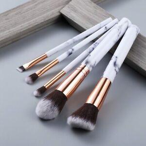 FLD5/5Pcs Makeup Brushes Tool Set Cosmetic Powder Eye Shadow Foundation Blush