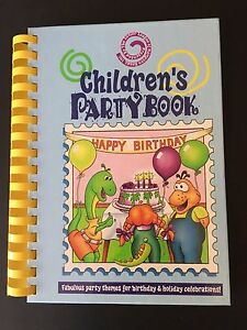 Childrens Party Book Birthday Holiday Party Themes Recipes Kids Fun 1998