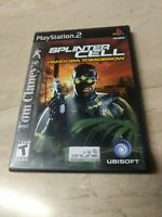Tom Clancy's Splinter Cell Pandora Tomorrow PlayStation 2 PS2 Ubisoft