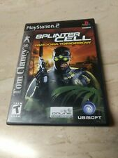 Tom Clancy's Splinter Cell Pandora Tomorrow PlayStation 2 PS2 Ubisoft